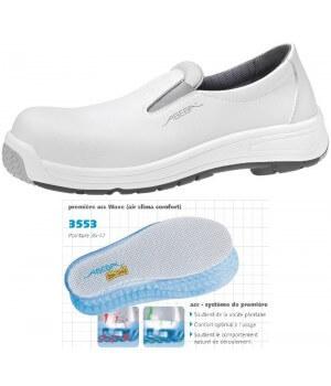 chaussures de travail lavables, Dessus Lorica hydrofuge