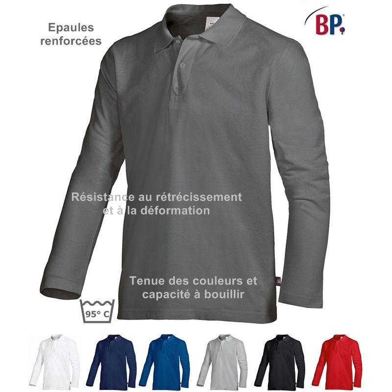 Manches Col Polo À Avec Bouillir Peut Boutons Longues Patte Mixte gtgrqnxw5f