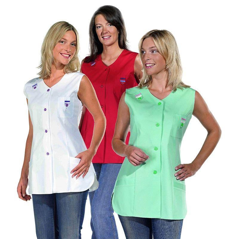 blouse femme sans manches bride avec passepoil color lpaule - Tunique Colore Femme