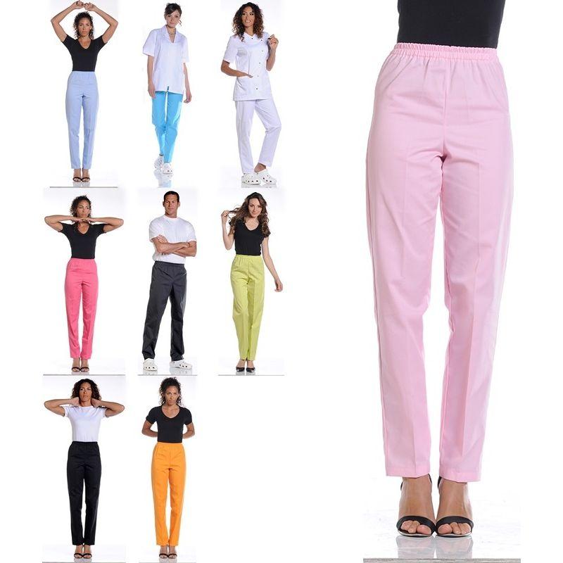 Pantalon Mixte Femme et Homme droit, Taille