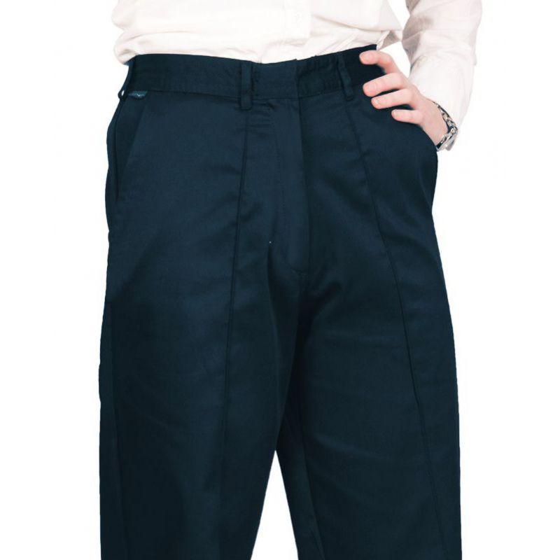 pantalon de travail femme lastiqu la taille confort. Black Bedroom Furniture Sets. Home Design Ideas
