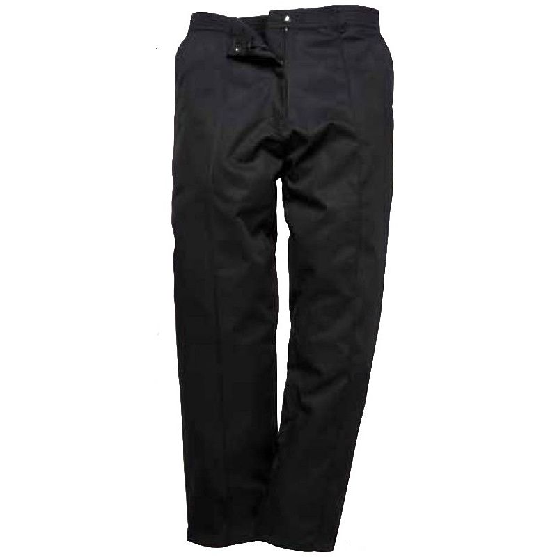 pantalon de travail femme lastiqu la ceinture. Black Bedroom Furniture Sets. Home Design Ideas