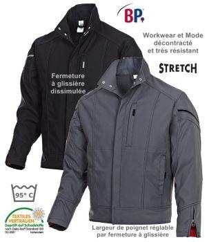 Blouson, Workwear et Mode, décontracté et résistant, Stretch confort