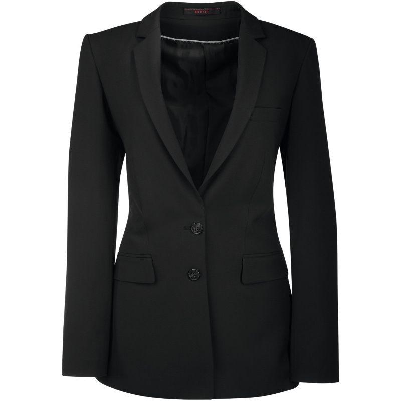veste femme premium coupe classique longue confort bi stretch infroissable. Black Bedroom Furniture Sets. Home Design Ideas