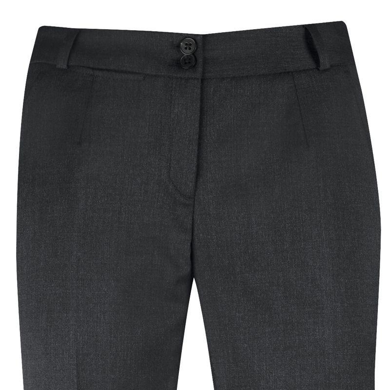 91522698057 ... Pantalon Tailleur Femme Laine Stretch lavable machine Anthracite ...
