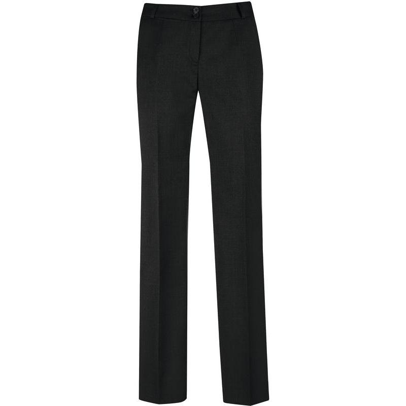 pantalon femme coupe droite laine et lycra stretch lavable. Black Bedroom Furniture Sets. Home Design Ideas