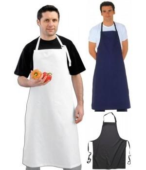 Tablier de Cuisine à bavette de restaurant, hôtel, Teinture de qualité