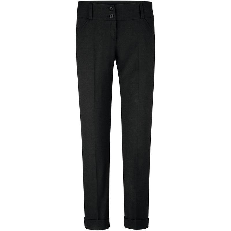 pantalon femme premium taille basse coupe cigarette bi stretch. Black Bedroom Furniture Sets. Home Design Ideas