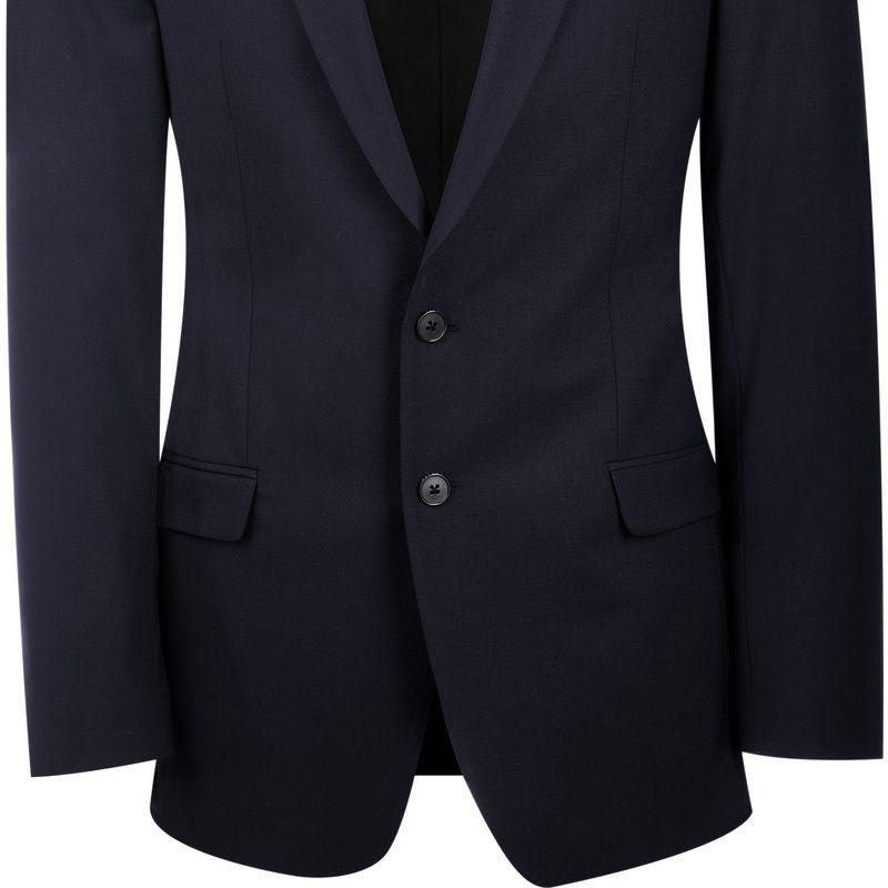 Slim Slim Slim Coupe Stretch Homme Bi Devant Devant Devant Devant Veste 2 Confort Premium Boutons HRqwgp
