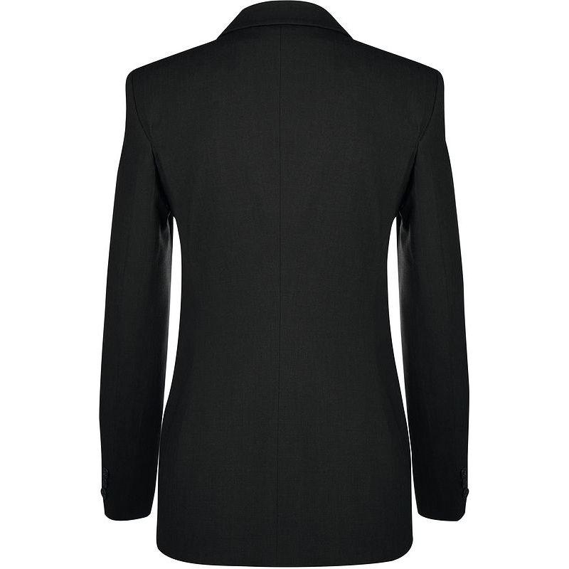Veste Femme, Coupe Confortable, Confort Laine vierge, Polyester et Stretch, 2 Boutons