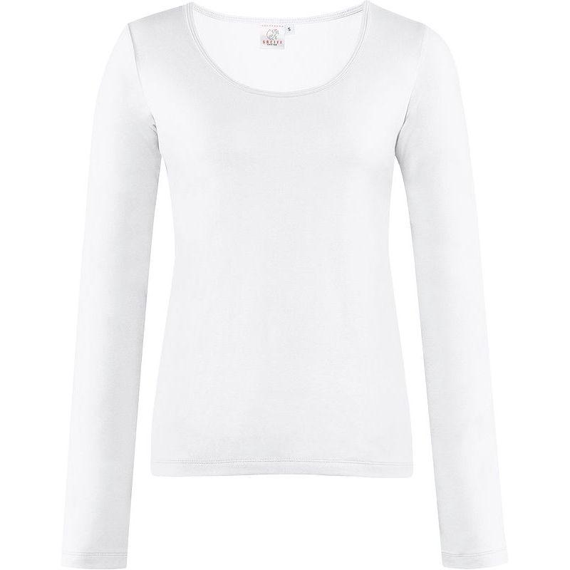 Stretch Qualité Coton Et FemmeManches De T Shirt LonguesConfort n0OPNwk8X