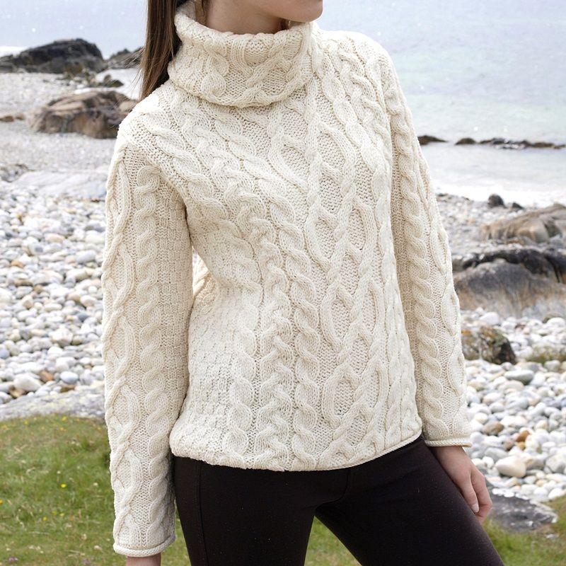 629fe11ef4f1 Pull laine irlandais pull été femme