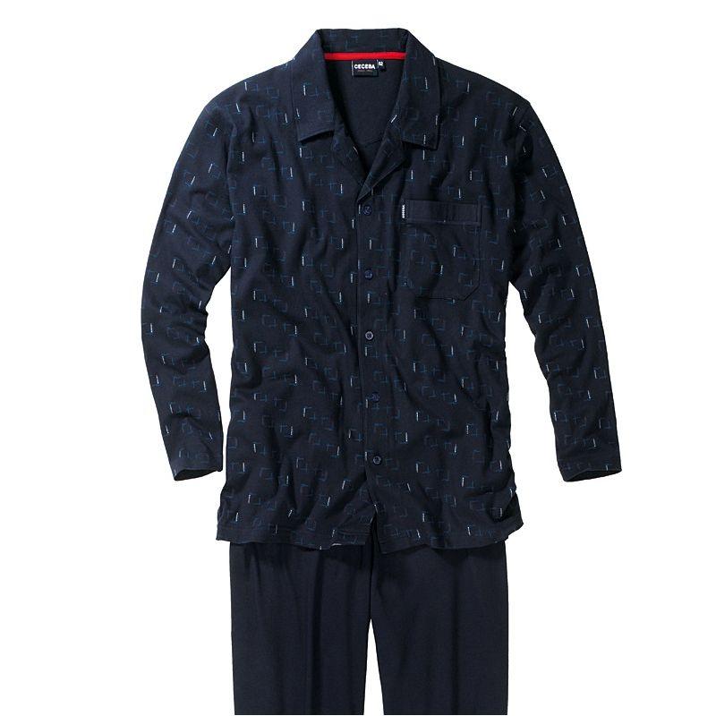 Pyjama homme 100 coton popeline chic et confortable for Vetement d interieur homme