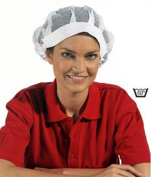 Charlotte de cuisine avec bande élastique, Résille