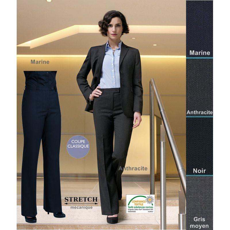 Pantalon FemmeCoupe Élégance Et Pantalon ClassiqueRésistanceFluidité Élégance FemmeCoupe ClassiqueRésistanceFluidité Et SqVLMpGzjU