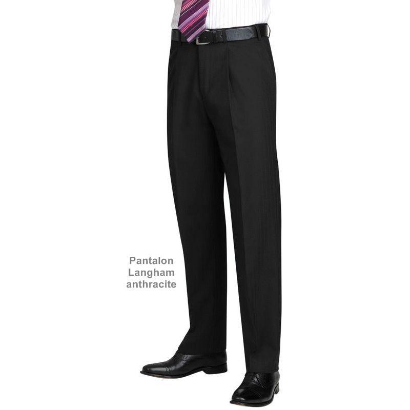 pantalon homme pinces coupe classique r sistance fluidit et l gance. Black Bedroom Furniture Sets. Home Design Ideas