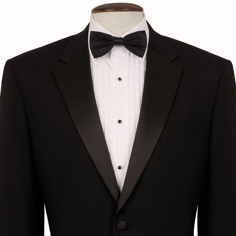 Veste de smoking homme noire revers et poches en satin 1 for Veste de chambre homme