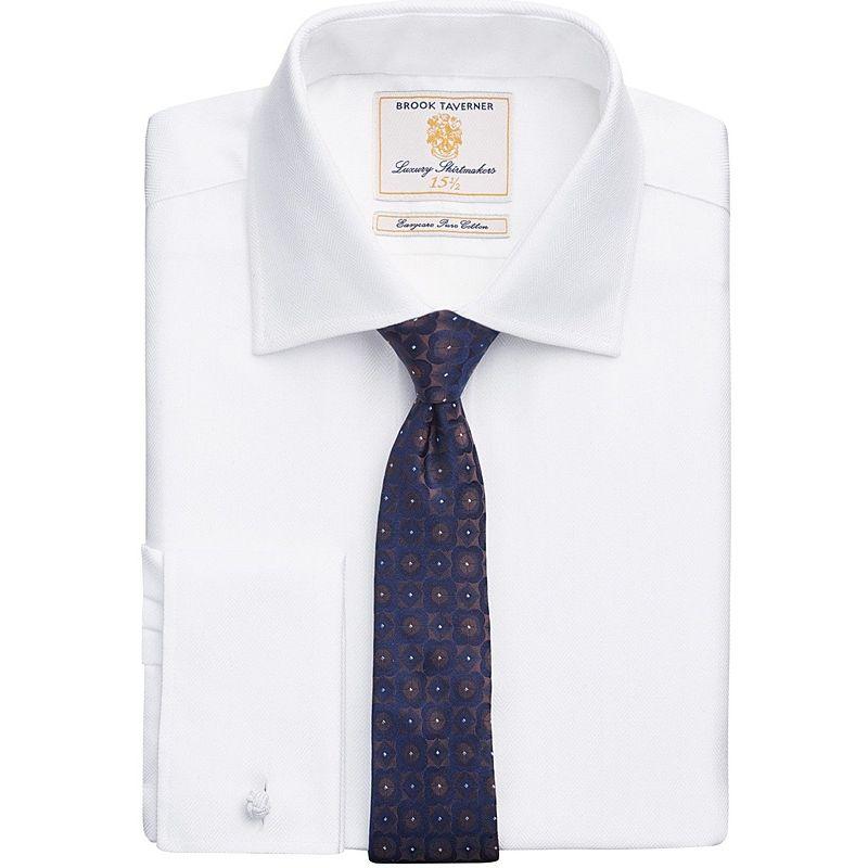 chemise homme manches longues coupe slim boutons de manchettes en soie. Black Bedroom Furniture Sets. Home Design Ideas