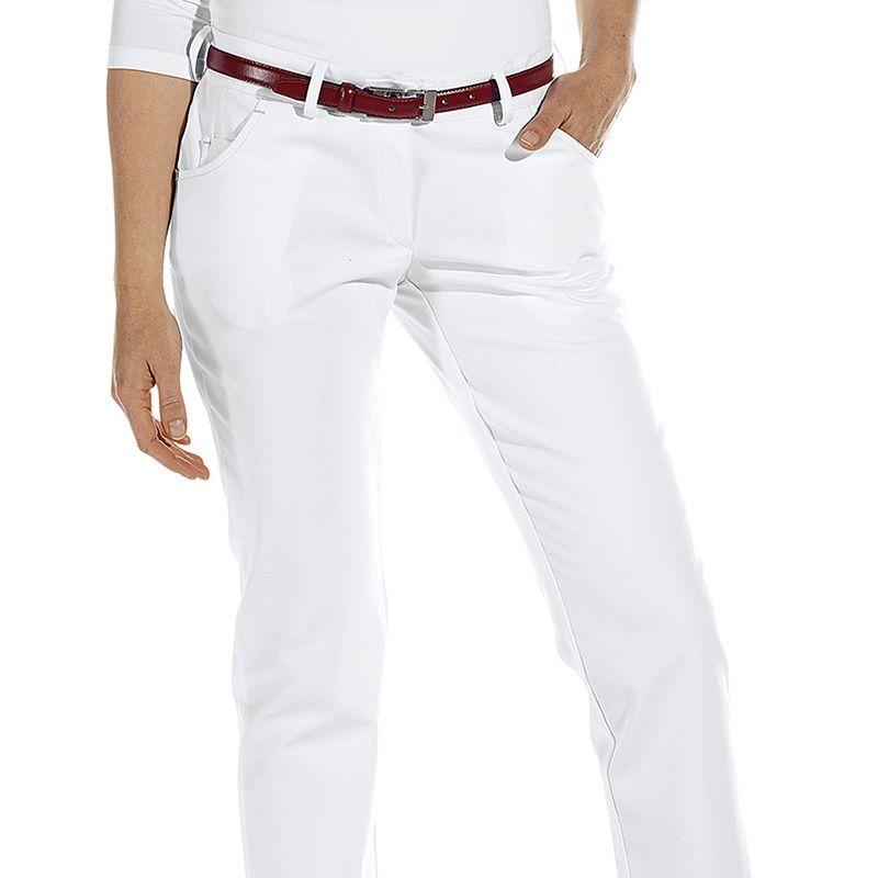 PochesBoutons FemmeCoupe 5 Décoratifs Rivets Tendance Et Pantalon Blanc BErCxeoWQd