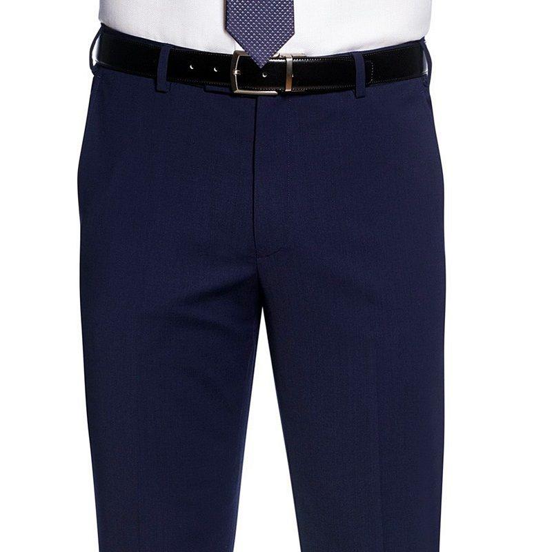 pantalon de costume homme coupe slim sans pinces 2. Black Bedroom Furniture Sets. Home Design Ideas