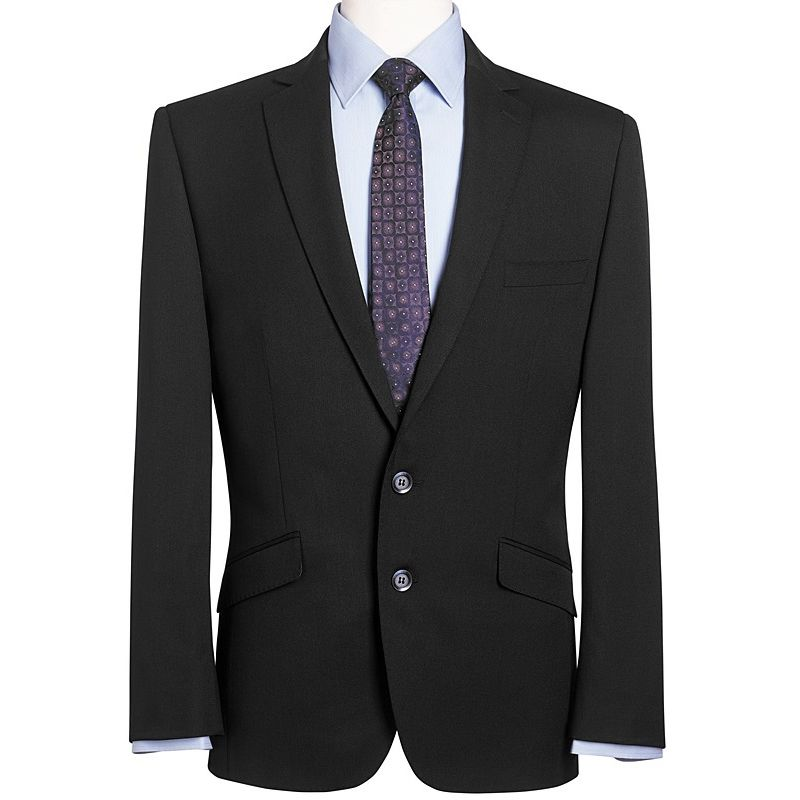 veste homme chic coupe courte et slim 2 boutons revers. Black Bedroom Furniture Sets. Home Design Ideas