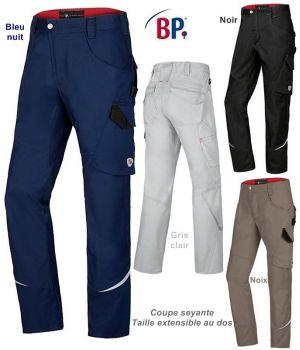 Pantalon de travail homme, Coupe seyante, Liberté de mouvement