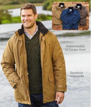 Veste Cork, Imperméable et Coupe vent, Taille XL
