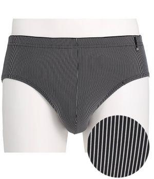 Slip Homme, Noir, Aspect très élégant, Tissu au toucher doux ultra doux
