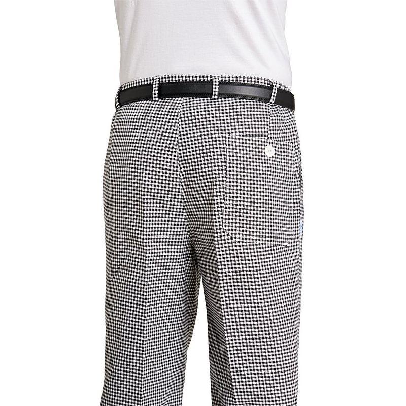 pantalon cuisine mixte coton grande taille ceinture lastique dos. Black Bedroom Furniture Sets. Home Design Ideas