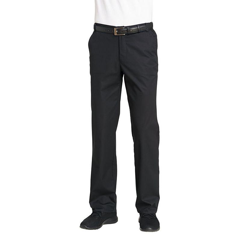 18ce2df49fc1 ... Pantalon homme noir, très confortable, Ceinture avec partie élastiquée,  Stretch extensible ...