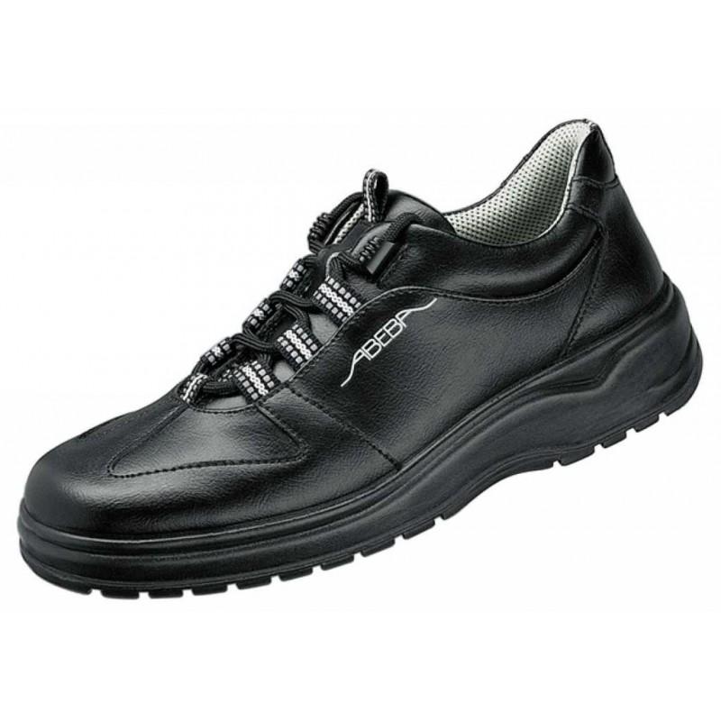 chaussures de travail dessus cuir semelle antid rapante noire. Black Bedroom Furniture Sets. Home Design Ideas