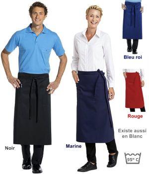 Tablier de service, 2 grandes poches, hauteur 80 cm x largeur 100 cm