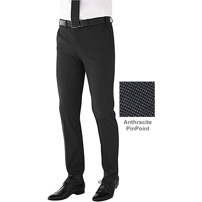 Pantalon Homme, Coupe Slim, Sans pinces,