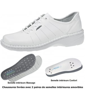 Confort Chaussures Grand Dame Main Cousu Massage qYqPU