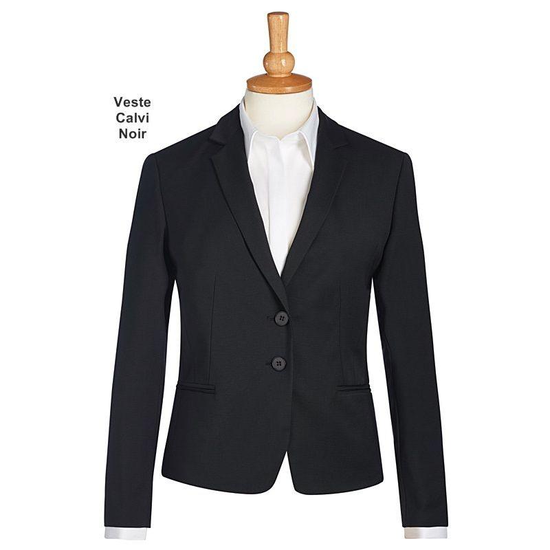 veste femme cintr e chic et habill e 2 boutons revers simple 2 poches avant. Black Bedroom Furniture Sets. Home Design Ideas