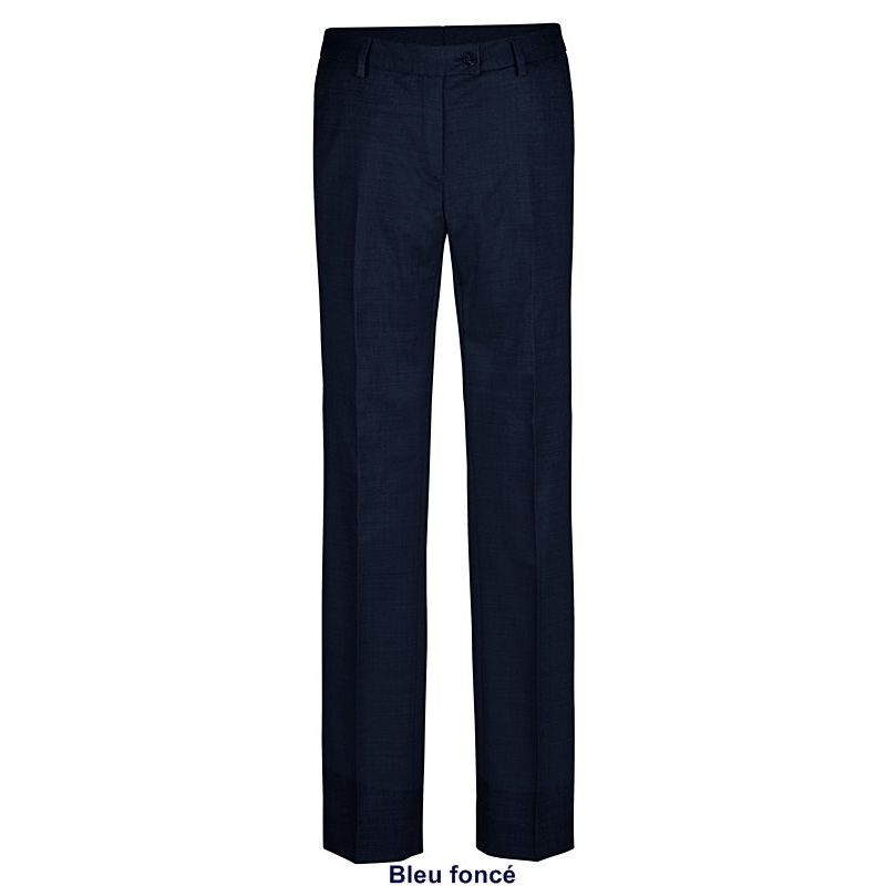 pantalon femme coupe droite regular fit confort et. Black Bedroom Furniture Sets. Home Design Ideas