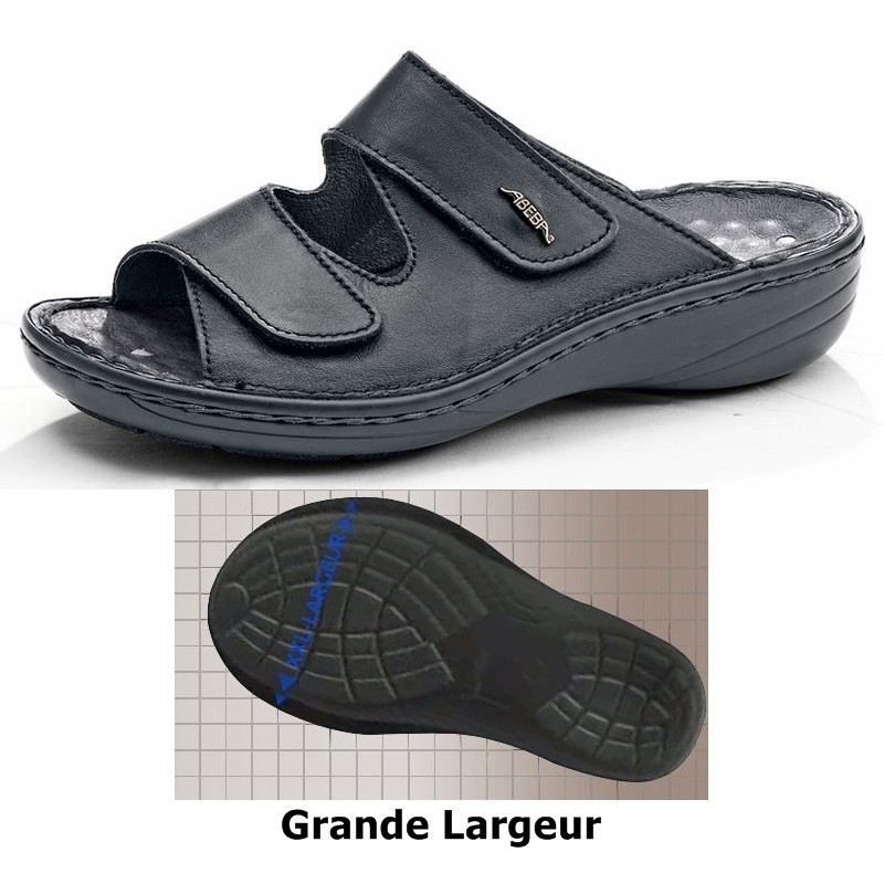 chaussures femmes confort grande largeur ladies walking sandals. Black Bedroom Furniture Sets. Home Design Ideas