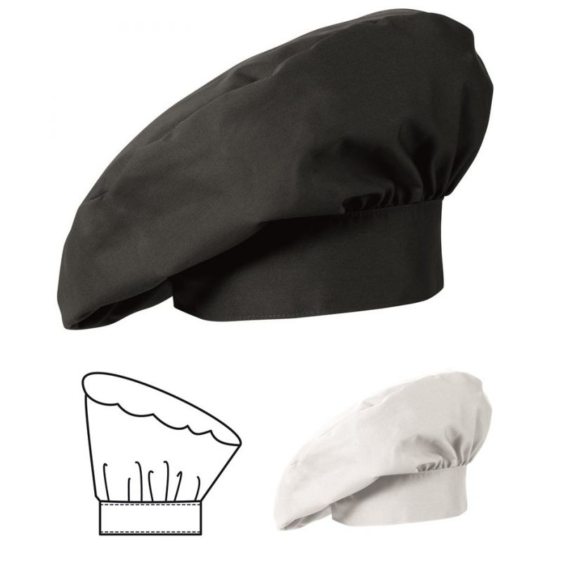 toque de cuisine la fran aise toque chef le paquet de 2. Black Bedroom Furniture Sets. Home Design Ideas