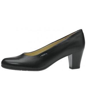 Chaussures femme dessus cuir et doublure en cuir de veau