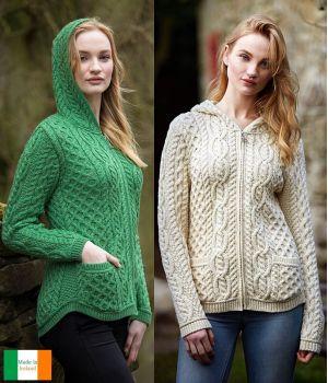 cd2d896fa37f gilet irlandais femme 100 laine