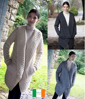 Manteau Femme Irlandais, Pour Rester Confortablement au Chaud