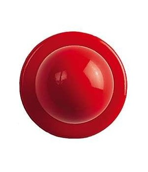 Boutons Rouges pour veste de cuisine, Le pack de 12