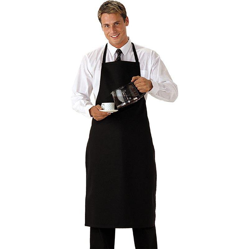 Tablier cuisine bavette de restaurant h tel teinture for Tablier de cuisine noir