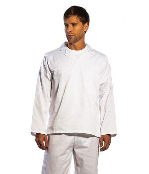 tunique homme et femme manches longues polyester coton