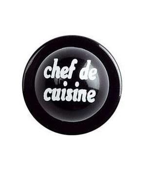 Boutons chef de cuisine