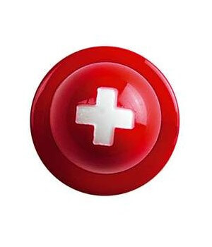 Boutons drapeau Suisse