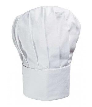 Toque cuisine, toque Chef, ballon, Forme haute, coton sergé