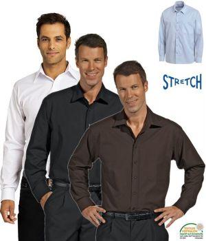 Chemise Homme, manches longues, Stretch extrêmement confortable à porter