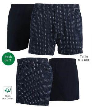 Boxer, Caleçon, 100% Coton, Taille 6XL.