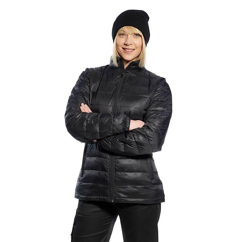 parka chaude et l g re pour femme poches zipp es. Black Bedroom Furniture Sets. Home Design Ideas